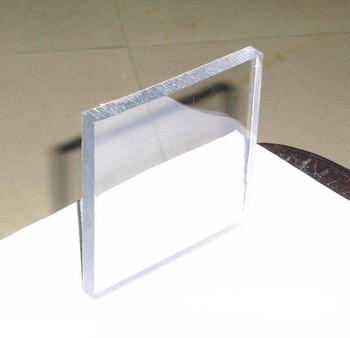 Professional Bulk Plastic Sheets Unbreakable Glass Sheet