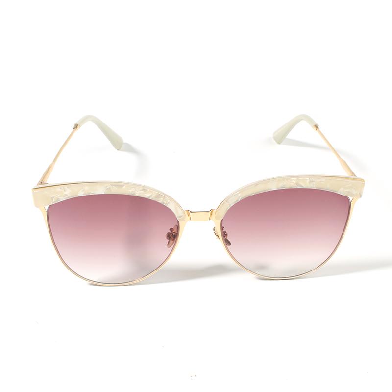 e93949692 Y & J العلامة التجارية oem مخصص شعار pc نظارات الشمس 2019 أزياء الصيف  النساء نظارات