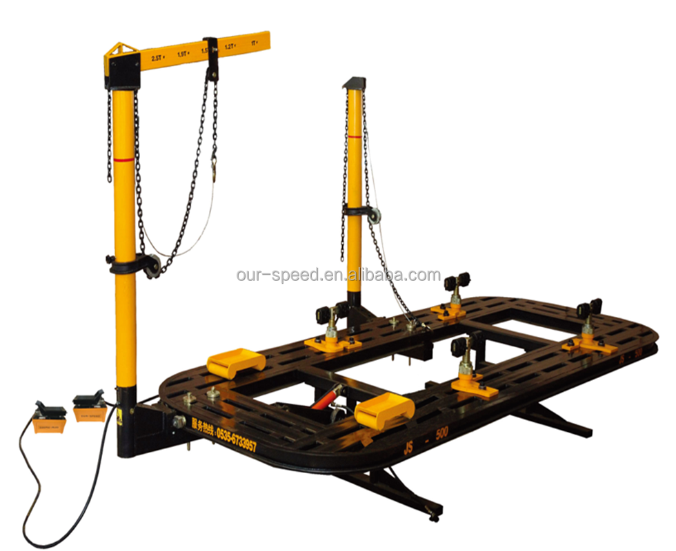 Auto Body Frame Machine car collision dent puller accident car repairing system car chassis straightening machine