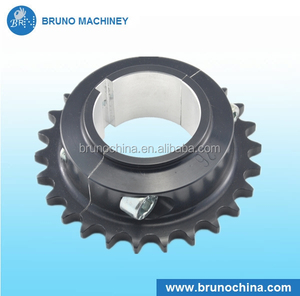CNC machining Durable Long working life steel motorcycle mx front sprockets