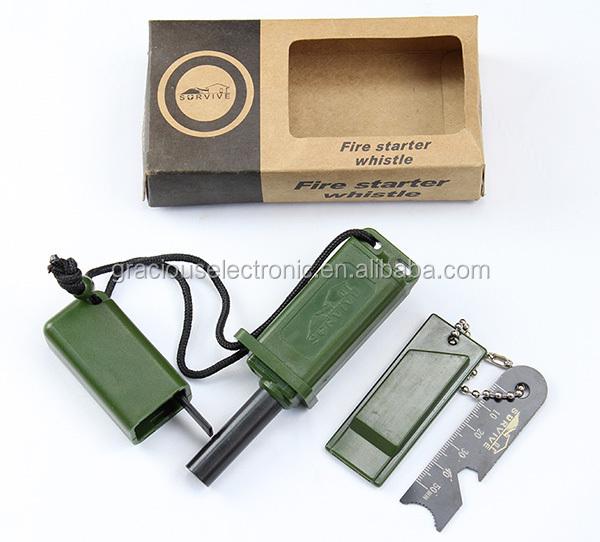 Emergency Fire Stick Starter Magnesium Flint Match Lighter Striker Survival Tool