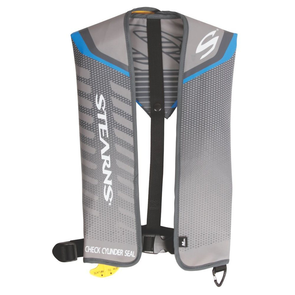 Stearns Fastpak 24G Manual Inflatable Life Vest Blue (Part #3000004372 By Stearns)