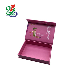 Wholesale Cheap Custom Logo Printed Paper Cardboard Packing Box Flip Top Boxes With Magnetic For Cosmetic