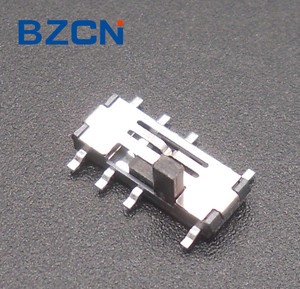 SS-002 Slide switch with 8 pins 4P3T for PCB Mount