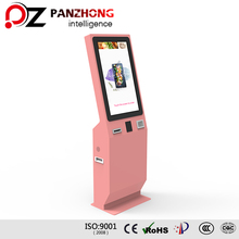 Floor Standing Restaurant Ordering Machine Self Service Restaurant Kiosk