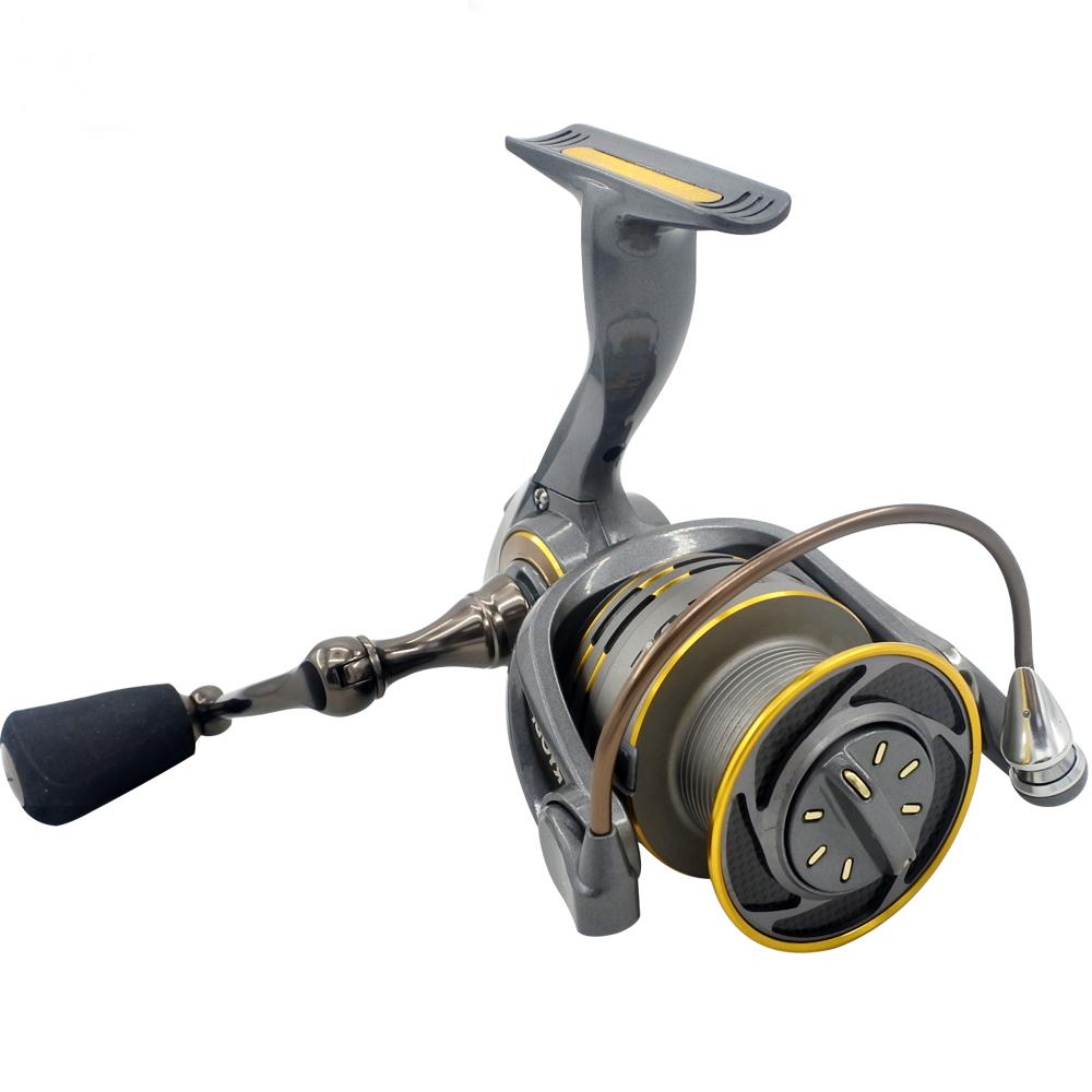 RYOBI 3000 Large Drag Foldable Handle Fishing Pesca Spinning Reel