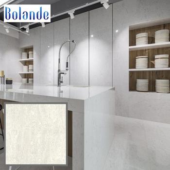 High Gloss White Marble Ceramic Flooring Tile 60x60 Living Room Navona Polished Porcelain Look Floor Tiles