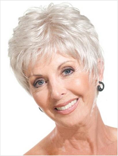 Gray Hair Styles Older Women