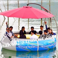 popular!!! electric BBQ yacht for park rent