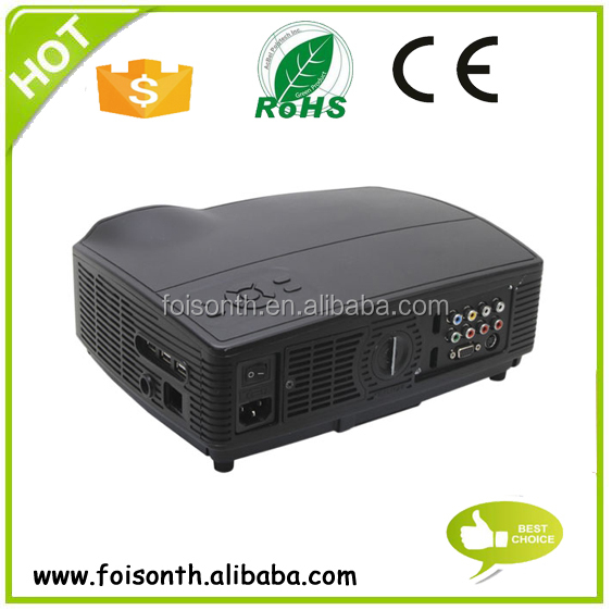 Home Theater Multimedia HDMI SD Hanged Mini Cheap Projector 1080p Best HD LED LCD Proyectors