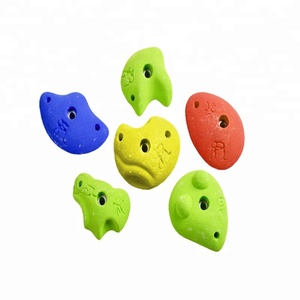 Customized multicolor best resin climbing rock holds