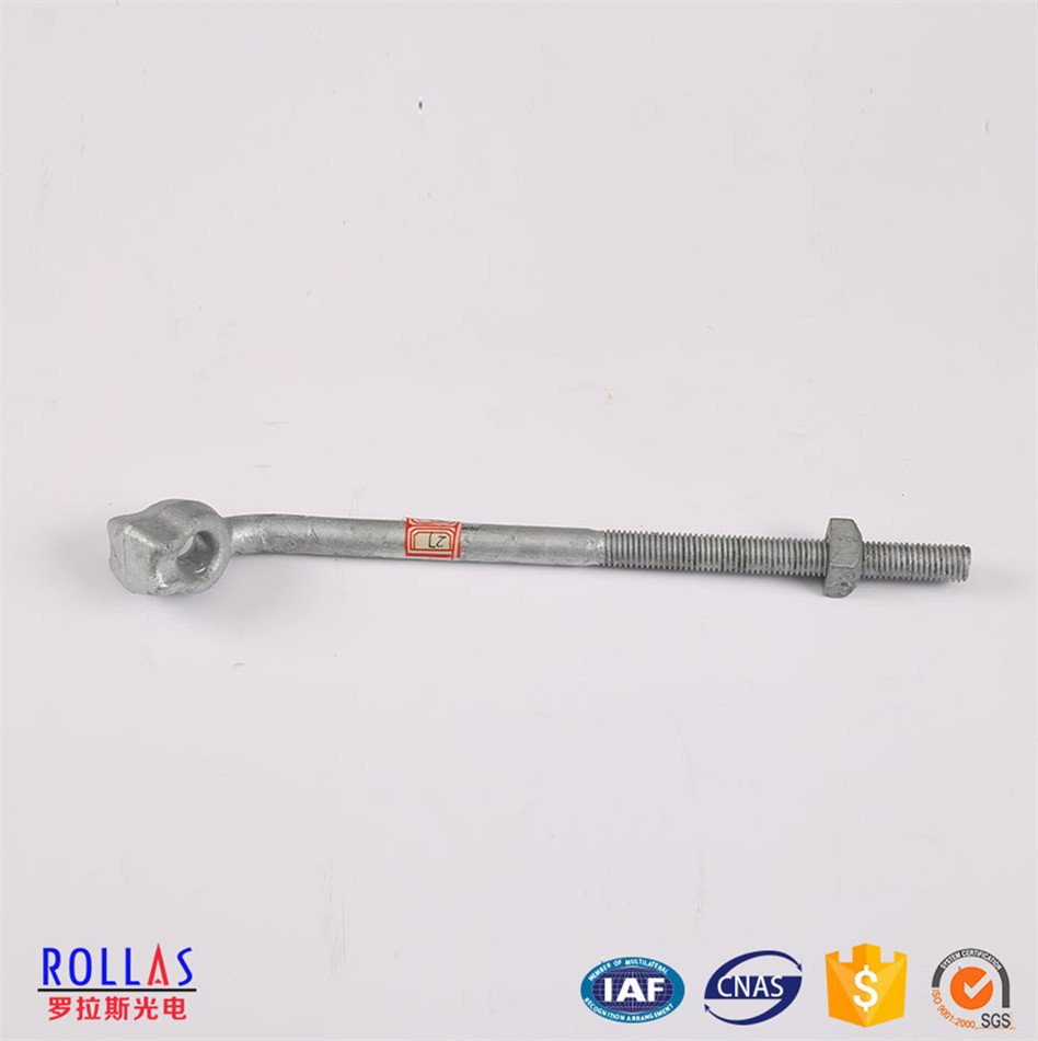 Galvanized Bolts with Nuts/Bolt and nuts /Hot dip galvanized bolt and nuts for Fasteners / electric cable fittings