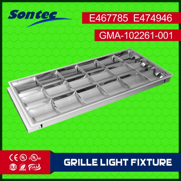 ETL UL land rover grille guardceiling lamp acrylic iron led grille light