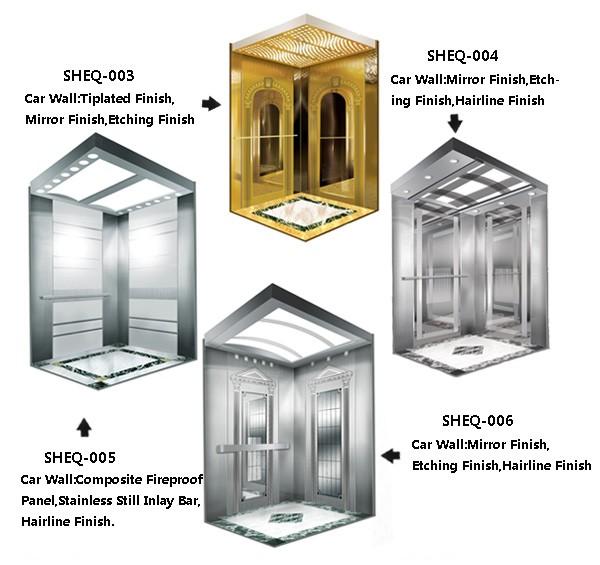 Building indoor passenger elevator 800kg capacity for Indoor elevator