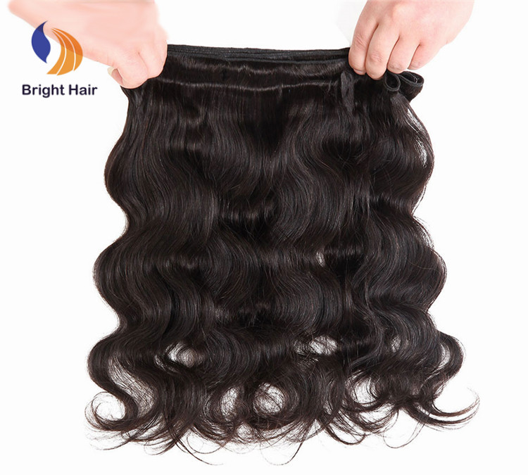 cheap free shipping mink raw indian remy virgin human hair extensions for black hair, Natural black