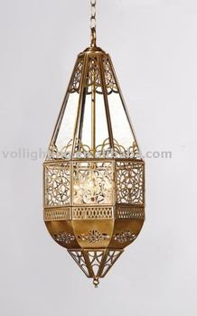 Traditional Victorian Copper Pendant Lamp Ceiling Lighting Fixture Home Cafe Hotel