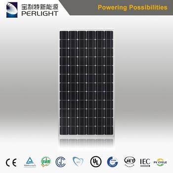 High Efficiency Perlight Mono Solar Panel 320w Solar