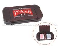 Wooden poker game