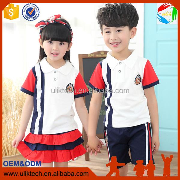 New fashion summer child clothes for sister and brother set wholesale kid clothes in baby clothing sets 2016 (su212)