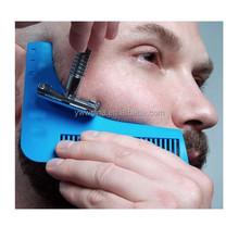 Strange Wholesale Stock The Beard Shaping Tool Beard Template Beard Comb Short Hairstyles For Black Women Fulllsitofus