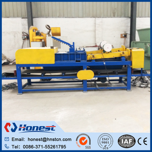 Waste car acid battery recycling machine