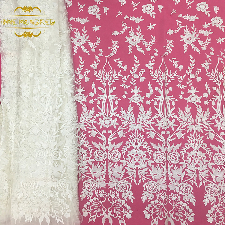 fashion Guipure Clothing Decoration Embroidery Lace Fabric
