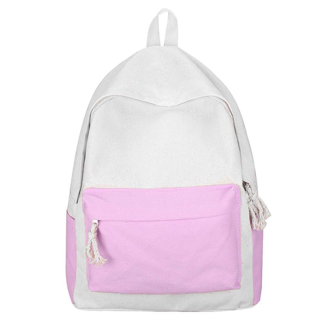 4a0e6ff110 Get Quotations · Hmlai Canvas Backpack