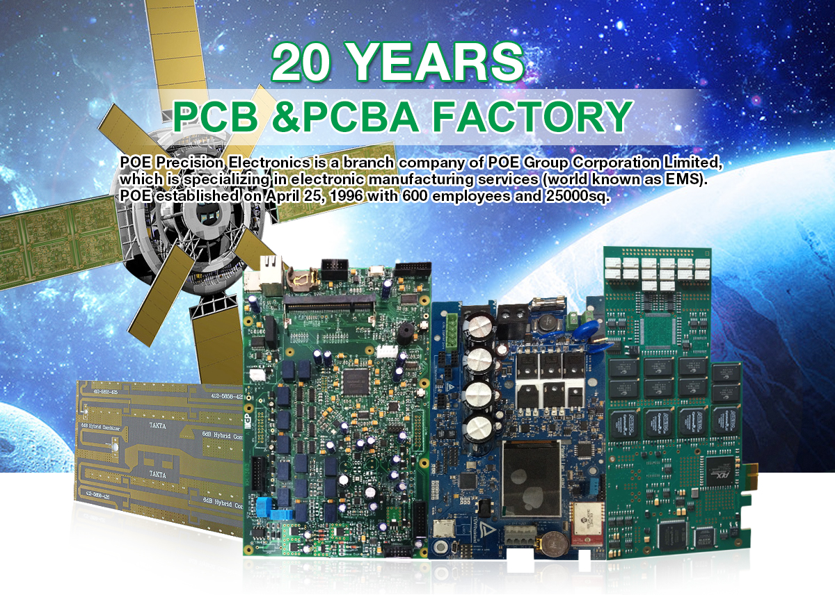 Made Pcb Printed Circuit Board China Shenzhen Poe Precision Technology Co Ltd Pcba