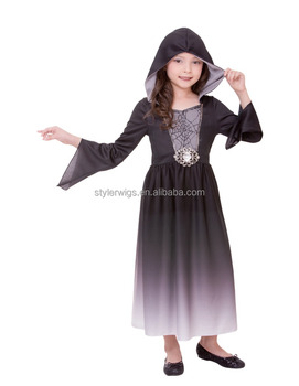 fashion desgin ombre halloween vampire costume for kids