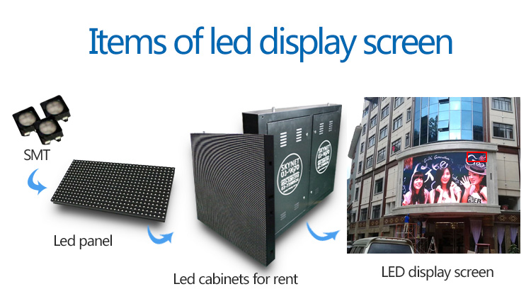 Full Color SMD P10 Outdoor Advertising Led Display Screen Prices