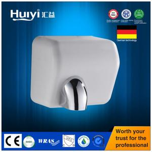 Hotel high speed wall mounted home appliance Automatic infrared Hand Dryer HY-798ABS white