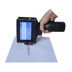 Portable Handheld Inkjet Printer for Board Stone Metal pipe Code Printing Machine