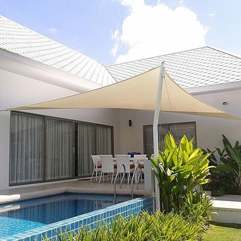 Patio Garden UV Blocking Color Option Sun Shade Sail Yard Canopy Swimming pool cover