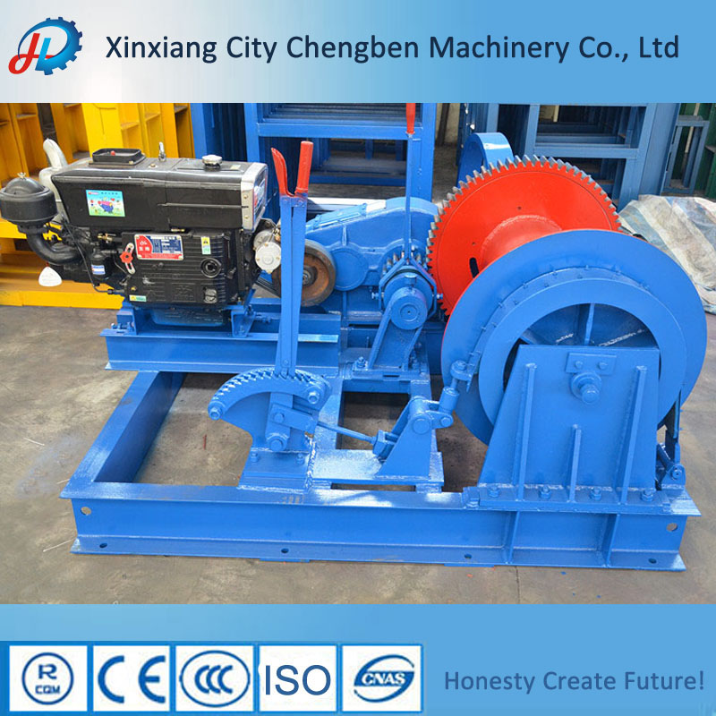 High quality Machinery diesel power Engine driven Winch