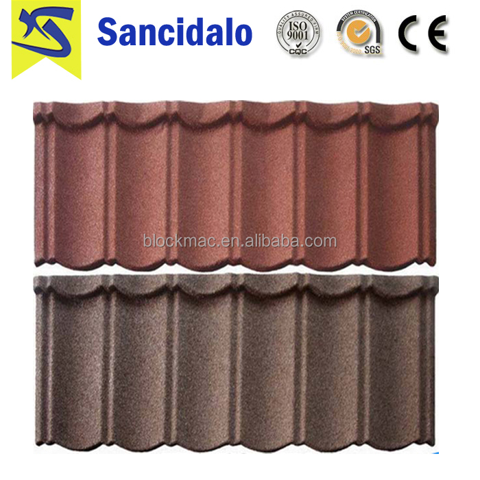 Villa traditional roof tiles/villa shingle roof tile/stone coated metal roof tile accessories