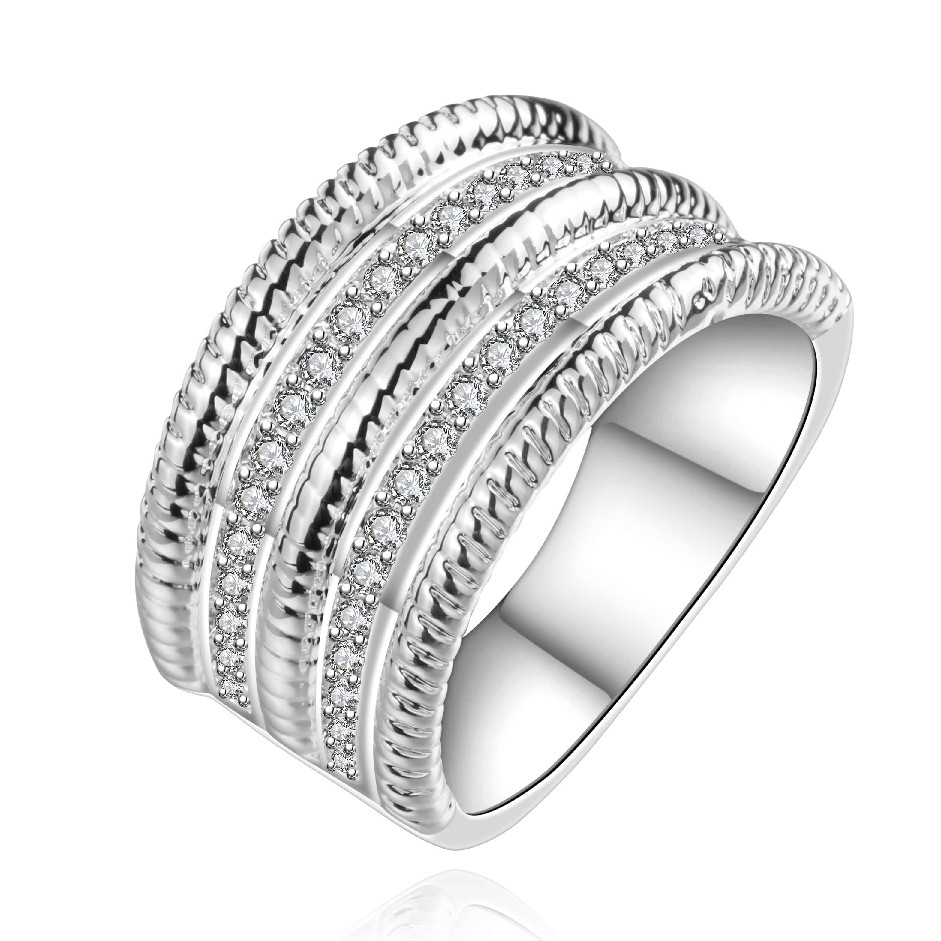 2015 new fashion 925 Silver stamp Bulgary rings the lord ...