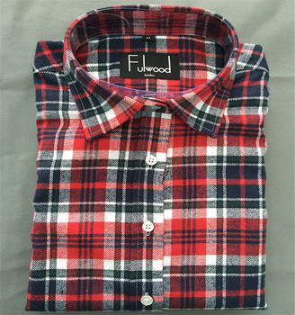 731b89d6e1b6 Mens Red Checked Thick Material Lumberjack Flannel Shirt - Buy ...