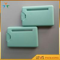 Silk-screen printing plastic pocket credit card perfume atomiser 20ml