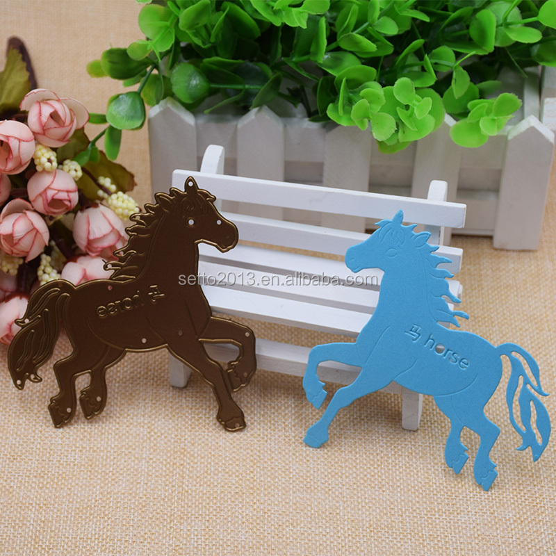 Horse die cut Metal Cutting Die Metal Scrapbooking Dies