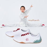 Unisex Tai Chi Shoes Wushu Kung Fu Shoes Martial Arts Canvas Shoes