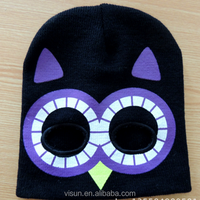 design your logo cotton beanie embroidered custom 3D embroidery beanie