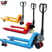 China factory manual hand lifter Forklift casting pump Pallet Truck Hydraulic Trolley