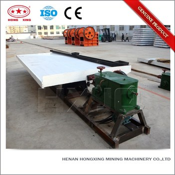 Gold Mining Concentrate Deister Shaker Table For Gold Separation - Buy Gold  Concentrate Shaker Table For Gold Separation,Gold Concentrate Deister
