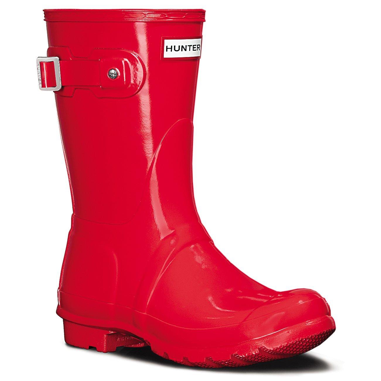 Women's Hunter Boots Original Short Gloss Snow Rain Boots Water Boots Unisex 5-10