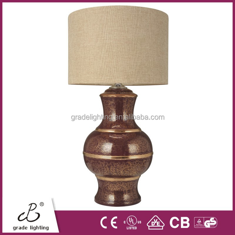 Mt5110 Chiness Ceramic Table Lamp