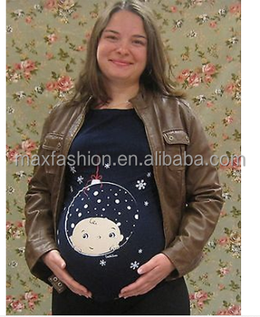 christmas ornament pregnancy shirtnew mom maternity t shirt - Maternity Christmas