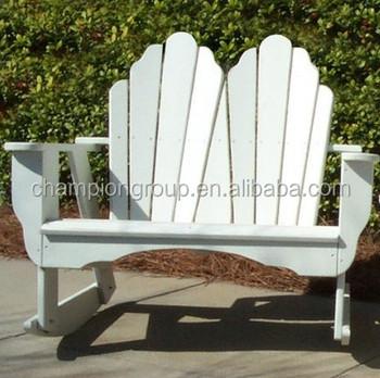 Foldig Wooden Adirondack Chairs /double Adirondack Rocking Chairs