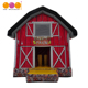 China supplier jumping bouncer inflatable farm house for kids