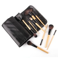 Hot Selling 32 Pcs New Makeup Brush Supplier Private Label PU Bag Makeup Brush