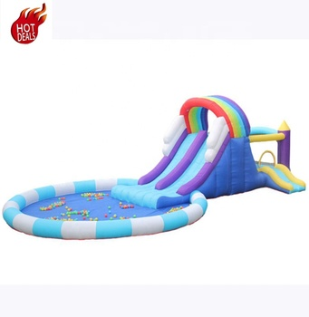 S426B New Arrival Inflatable Fabric PVC Top Quality CustomDesign 25Ft Inflatable Slide Wholesale in China